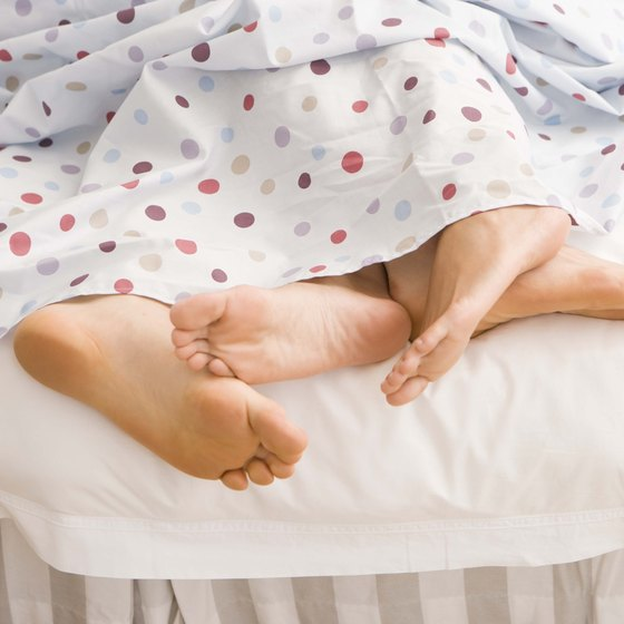 Your uncomfortably cold feet may disturb your sleeping partner as well.