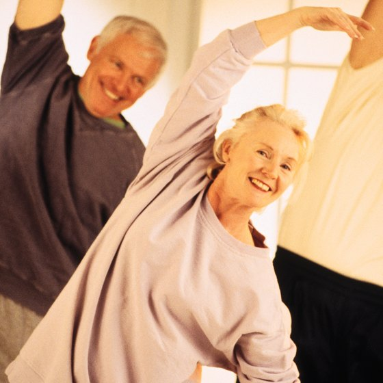 Coordination exercises help seniors stay mobile.