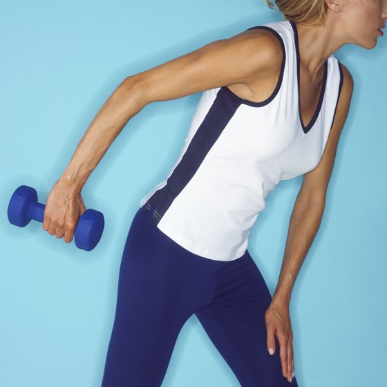 Moderate resistance and a high heart rate will help improve your shape.