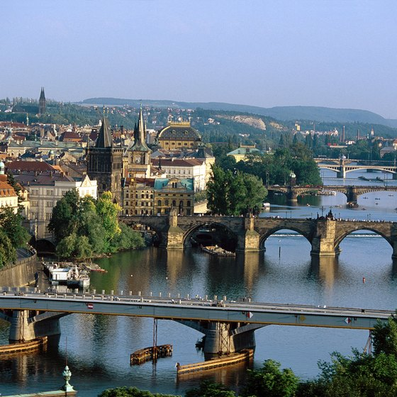 Prague is a European capital with wide-reaching train connections.