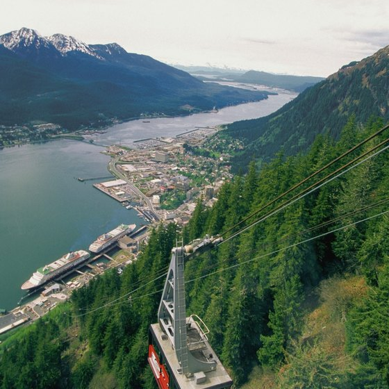 Cable car tours of Mount Roberts are one sightseeing option.