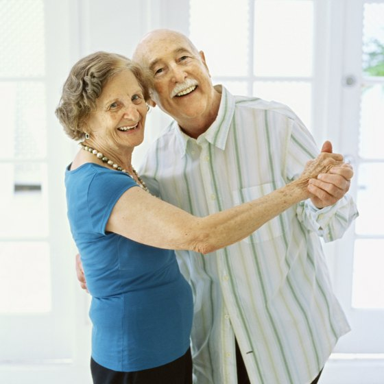 Low-impact dancing is a healthy activity for all ages.