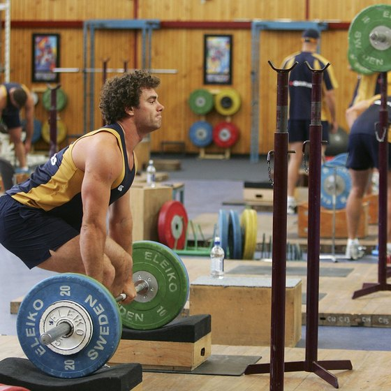 Powerlifters need strong glutes.