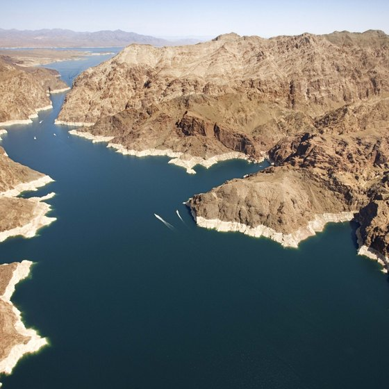 Lake Mead's meandering shoreline, open water and plentiful fishing holes lure avid outdoor enthusiasts.
