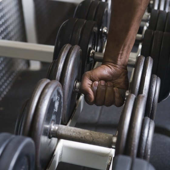 Grab a dumbbell for one-armed rows.