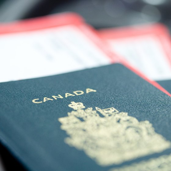 Canadian passports are slightly different from those issued in the U.S.