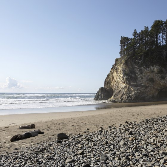 Cannon Beach is a short drive from Seaside.