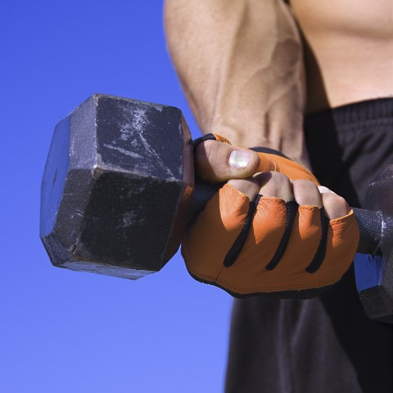 Target your forearms with wrist curls.