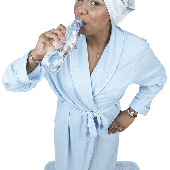 Drinking water is part of a complete weight-loss strategy.