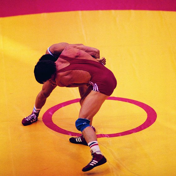 Greco-Roman wrestlers pride themselves on their clinch work.
