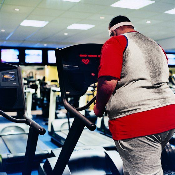 By adding a slight incline, walking on the treadmill can feel easier than walking on flat ground.