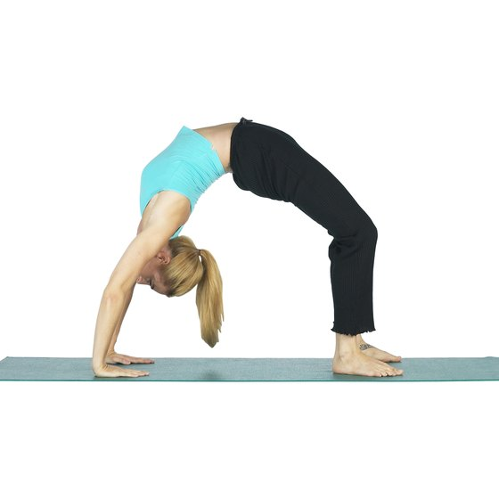 Yoga can provide an intense workout.