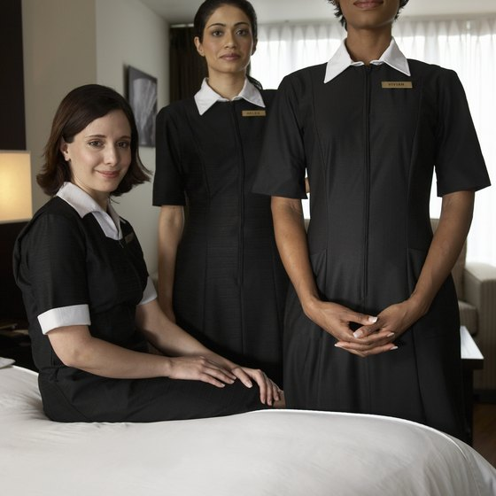 Housekeeping is considered back-of-the-house staff.