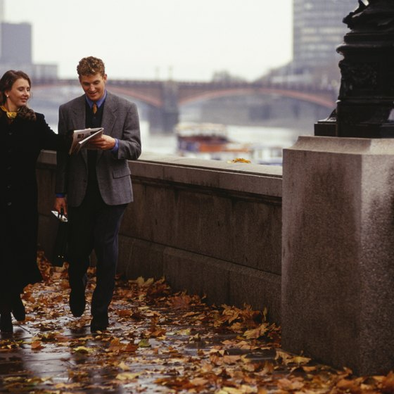 London may be wet and foggy during the autumn, but not especially chilly.