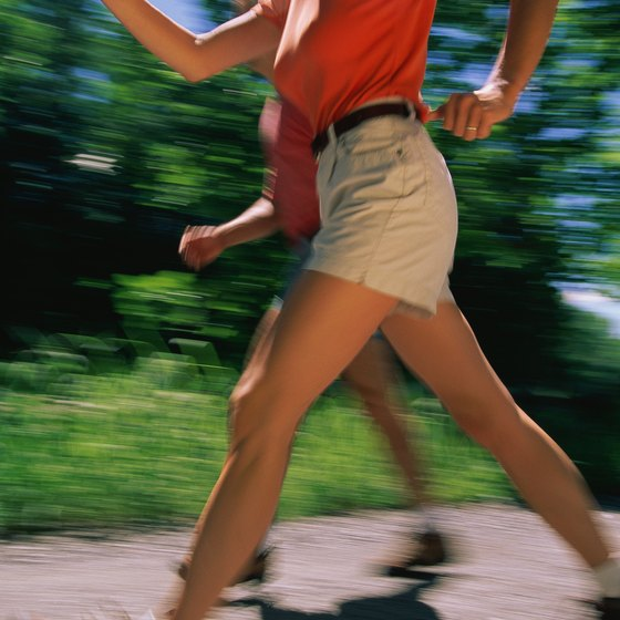 Walk before you run to create a long-term jogging program.