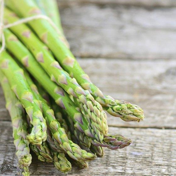 Bound asparagus