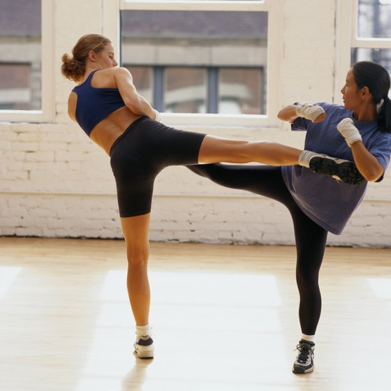 Kickboxing has more in common with yoga than you might expect.
