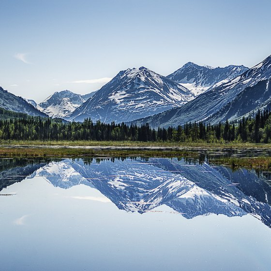 Enjoy Alaska's raw beauty in the summertime.