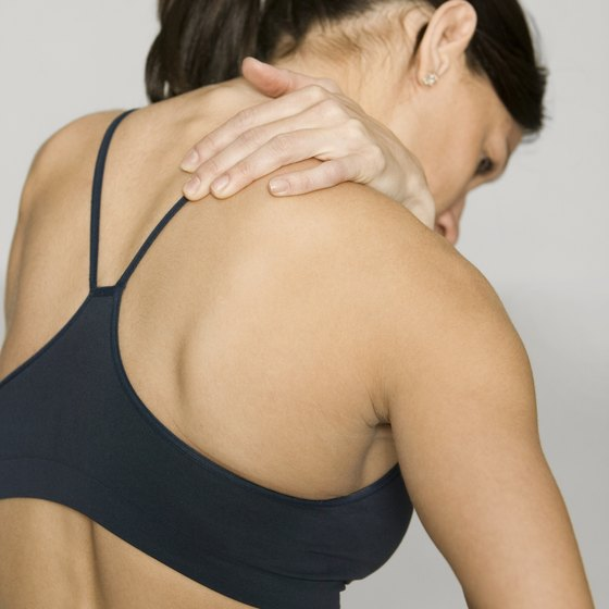 Tight shoulders can be a source of discomfort.