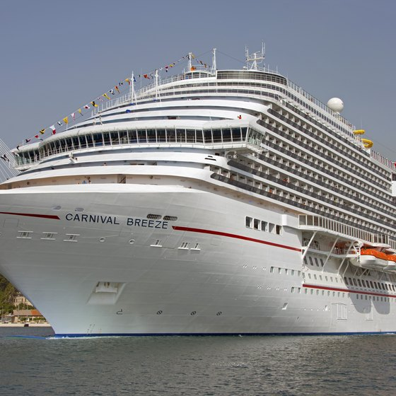 For a wedding and honeymoon in one, consider getting married on a Carnival cruise ship.