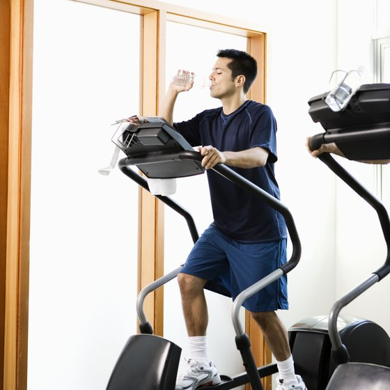 Regularly exercising on an elliptical machine can help you lose weight