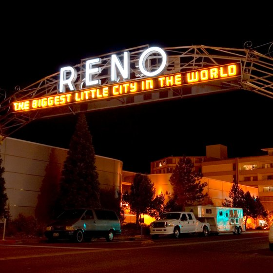 Reno maintains a small-city feel in an elegant marriage of natural surroundings and casino lights.