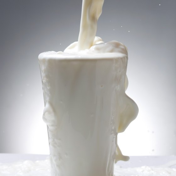 Include fortified plant milk, such as soy milk, for calcium, vitamin D and vitamin B-12.