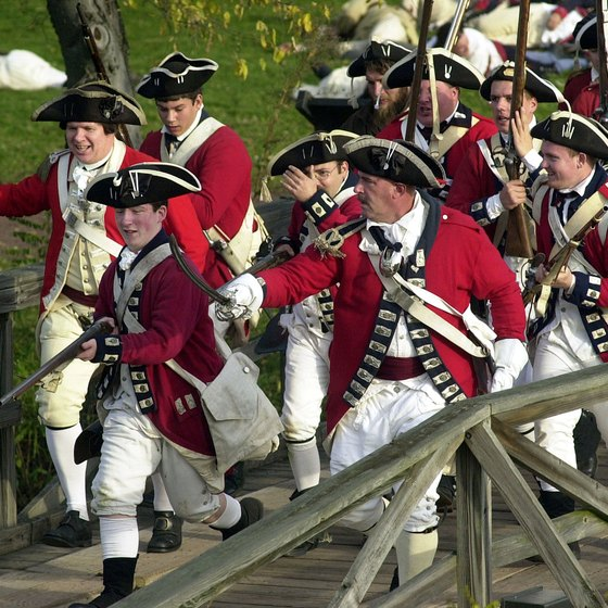 Occasional Revolutionary War re-enactments are held at Fort Mifflin in Southwest Philadelphia.