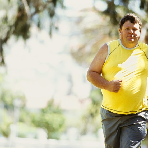 Jog your way to a slimmer midsection.