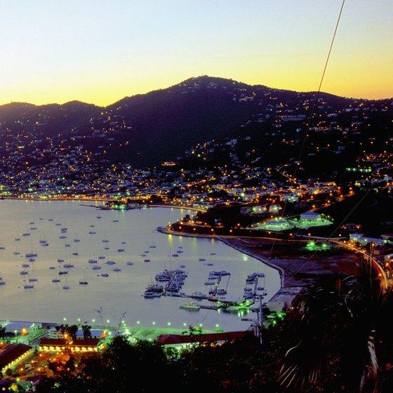 St. Thomas capital Charlotte Amalie is a major cruise ship hub.