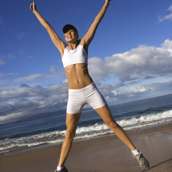 Exercise improves several aspects of your body.