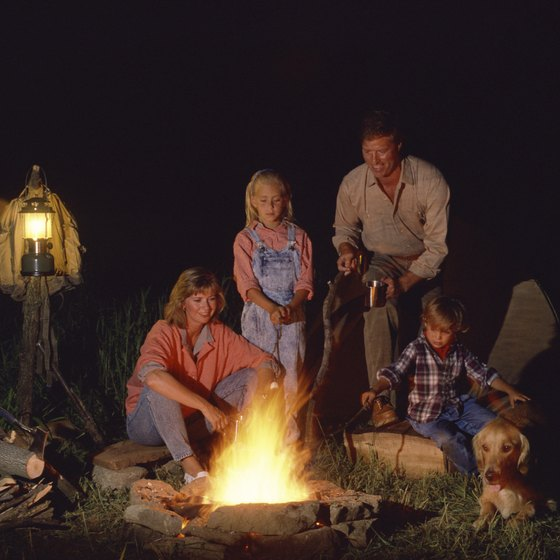 Many California campgrounds welcome the furry members of your family.