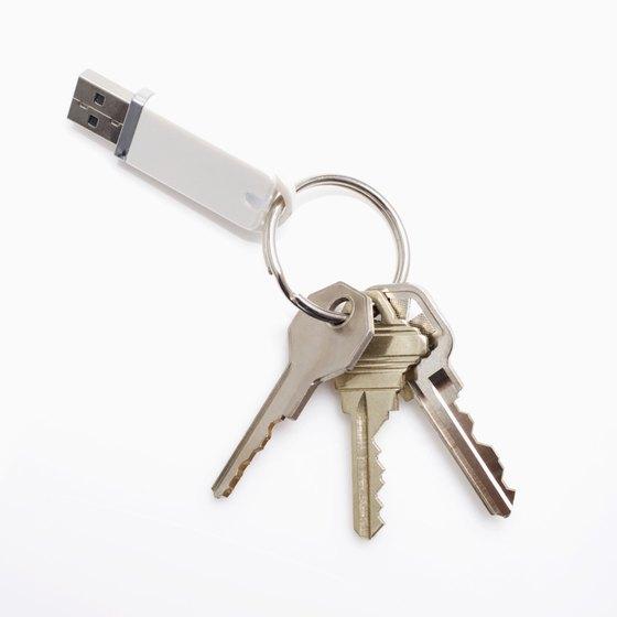 Back up your Mac hard drive on a USB memory key.