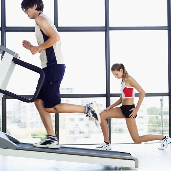 Treadmills give the hamstrings and glutes a lighter workout than outdoor running.