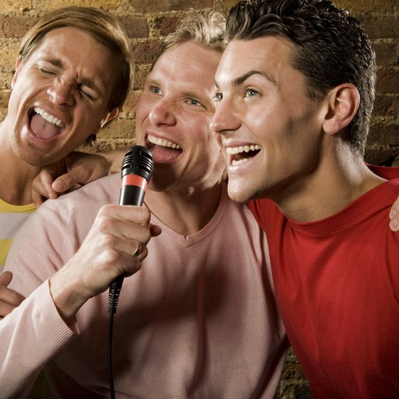 Events such as karaoke night can bring new patrons into your bar.
