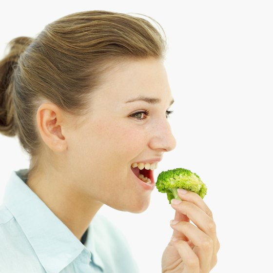 Raw broccoli is richer in most nutrients than cooked broccoli.