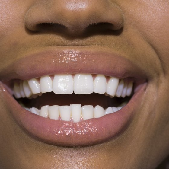 White teeth don't have to come from a strip or a tray.