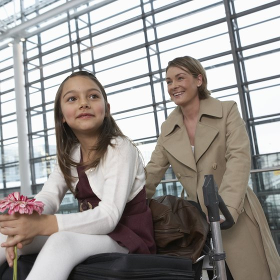 Move restricted items to your checked baggage before you check in.