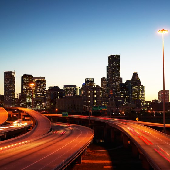 Houston covers more than 600 square miles of Texas.