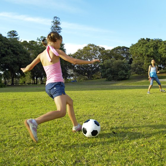 Soccer is one of many activities for kids in Fairhope.