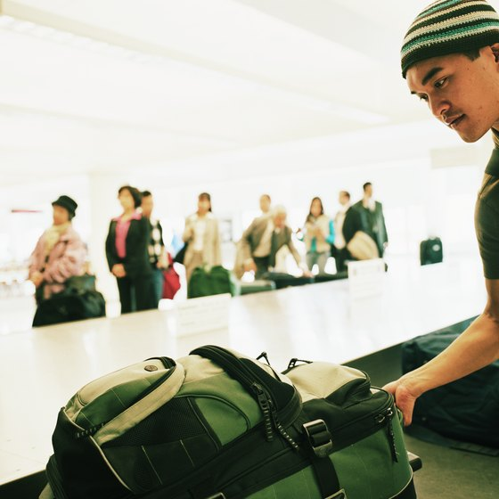 Remove or protect your backpack's straps to avoid damage on baggage carousels.