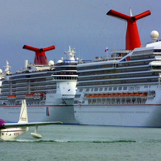 PortMiami serves as a gateway to the Caribbean for cruise ships.