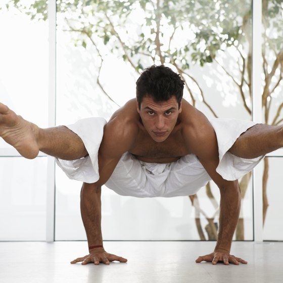 Men who practice yoga will experienced increased flexibility.
