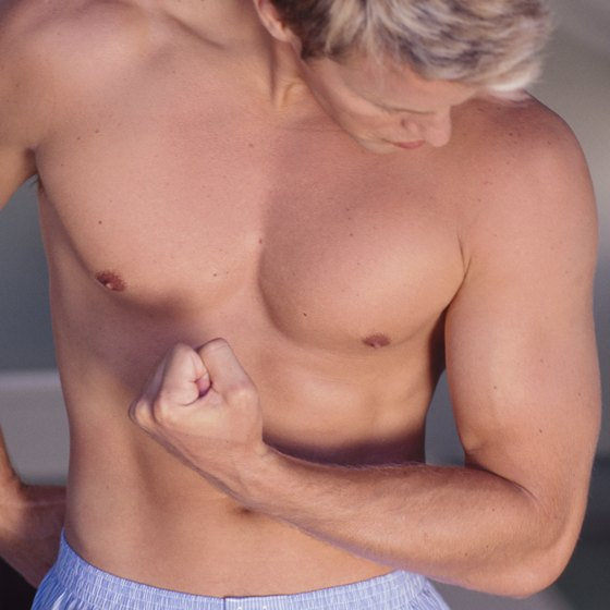 Trim fat and build muscle for defined pectorals.