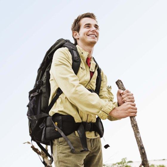 Hiking burns more calories than walking on flat surfaces.