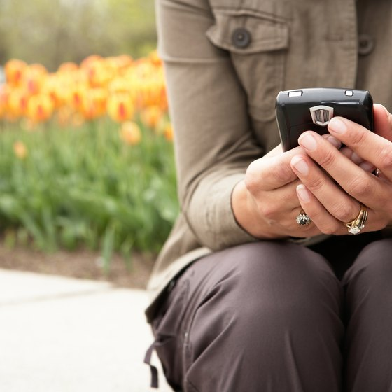 Twitter on your phone can help you to stay in touch when you're out.