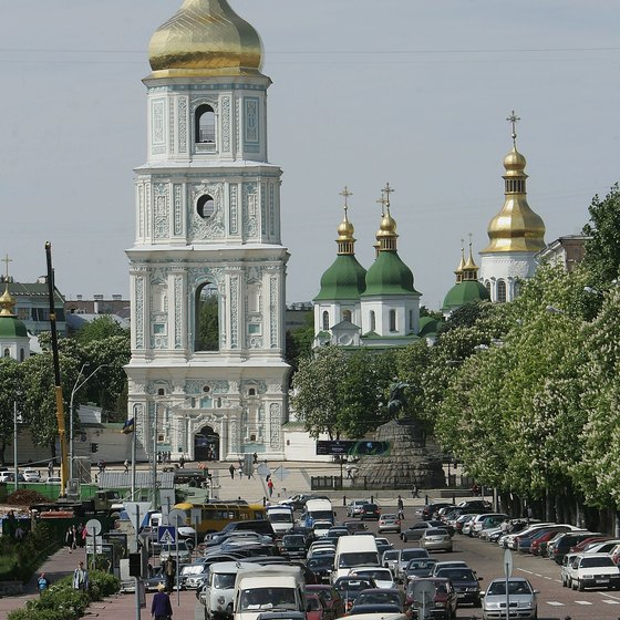 St. Sophia Cathedral is Kiev's oldest church.