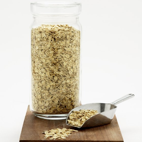 Oatmeal is a good source of soluble fiber.
