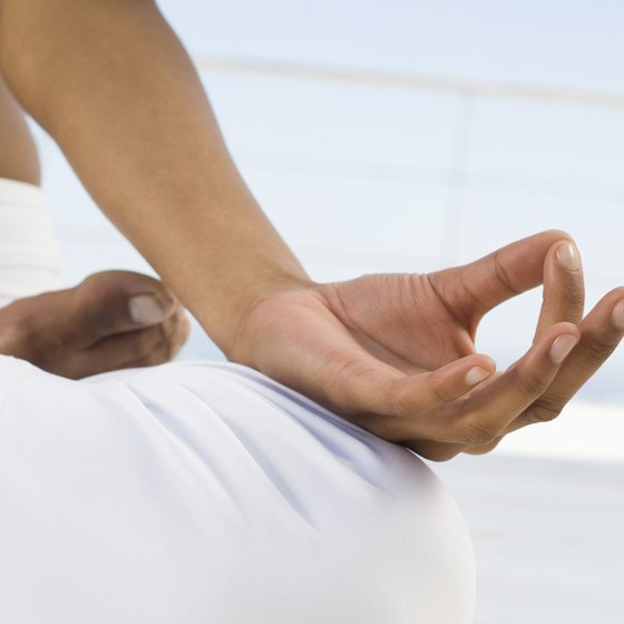 Kriya yoga uses hand gestures, called mudras, to help control energy flow through the body.