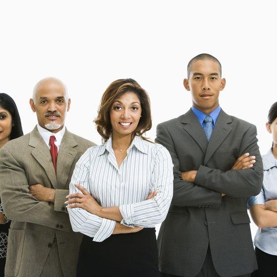 Matrix organizations assemble teams to solve problems.